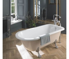 BC Designs Mistley Single Ended Freestanding Roll Top Bath 1700mm