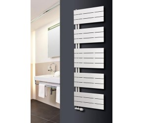 Eucotherm Mars Trium White Designer Heated Towel Rail 1495mm x 600mm