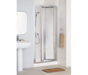Lakes Classic Framed Pentagon Bi-fold Shower Enclosure 700mm x 1850mm