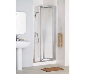 Lakes Classic Framed Bi-Fold Shower Door 900mm Wide x 1850mm High