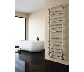 Reina Belbo Polished Stainless Steel Towel Rail 820mm x 530mm