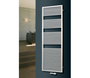 Eucotherm Diana White Designer Towel Radiator 1270mm High x 600mm Wide