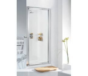 Lakes Classic Framed Pivot Shower Door 1000mm Wide x 1850mm High