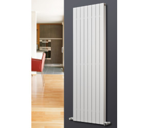 Eucotherm Mars Deluxe White Double Panel Vertical Flat Panel Radiator 1800mm x 595mm