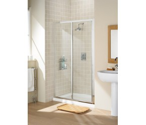 Lakes Classic Framed Slider Shower Door 1100mm Wide x 1850mm High