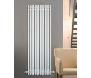 Eucotherm Supra Square Tube White Vertical Radiator 1800mm x 550mm