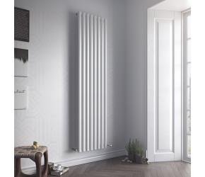 Eucotherm Nova Double Panel White Vertical Radiator 1800mm x 294mm