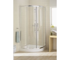 Lakes Classic Double Door Offset Quadrant Shower Enclosure 1000mm x 800mm