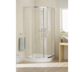 Lakes Classic Double Door Offset Quadrant Shower Enclosure 1000mm x 800mm