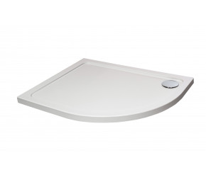 Kartell Stone Resin Offset Quadrant 1000mm x 800mm Right Hand Shower Tray