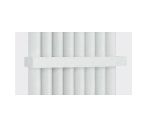 Eastbrook Witney Matt White Standard Towel Hanger 470mm