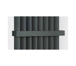 Eastbrook Witney Matt Anthracite Standard Towel Hanger 280mm