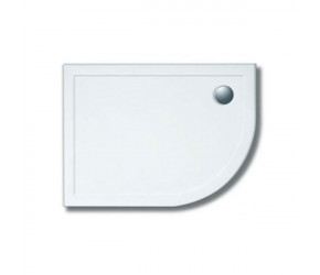 Lakes Stone Resin Low Profile Offset Right Hand Quadrant Shower Tray 900mm x 760mm