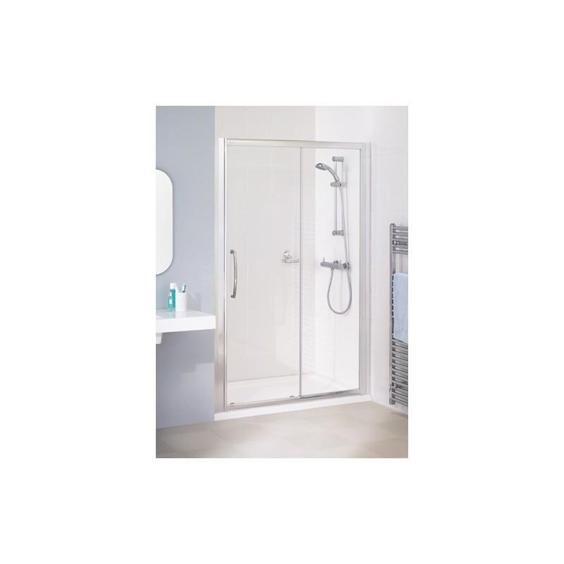 Lakes classic semi frameless sliding shower door 1700mm for 1700 high shower door