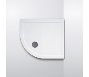 Lakes Contemporary Lightweight Low Profile Quadrant Shower Tray 900mm x 900mm