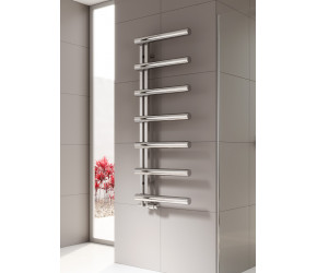 Reina Grosso Polished Stainless Steel Designer Towel Rail 1250mm x 500mm