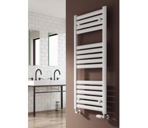 Reina Anita Polished Aluminium Designer Heated Towel Rail 1195mm x 530mm