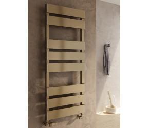 Reina Fermo Bronze Satin Aluminium Designer Towel Rail 1190mm x 485mm
