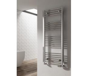 Reina Divale Anthracite Aluminium Designer Towel Rail 800mm x 530mm