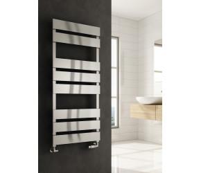 Reina Fermo Brushed Aluminium Designer Towel Rail 710mm x 485mm