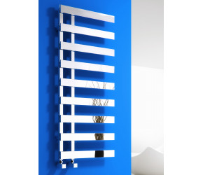 Reina Florina Anthracite Designer Heated Towel Rail 800mm x 500mm