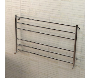 Eastbrook Violla Polished Stainless Steel Towel Rail 590mm 1000mm