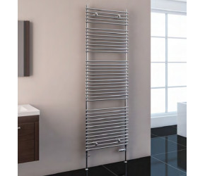 Eastbrook Biava Tube on Tube White Heated Towel Rail 600mm x 600mm