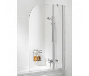Lakes Classic Curved Bath Screen 975mm x 1400mm