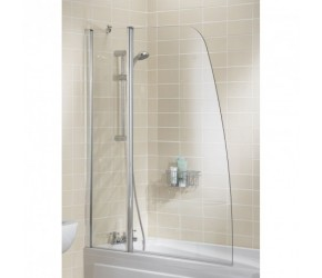 Lakes Classic Sculpted Bath Screen 1175mm x 1400mm