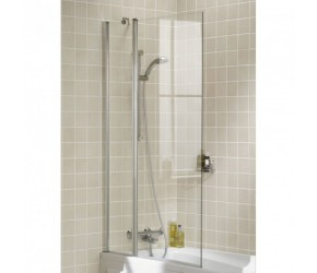 Lakes Classic Square Bath Screen 944mm x 1500mm