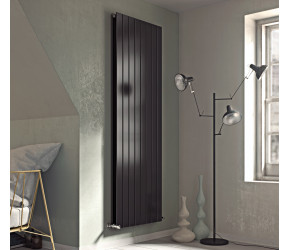 Eucotherm Mars Anthracite Flat Double Panel Designer Radiator 900mm x 595mm