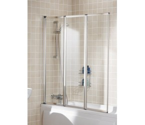 Lakes Classic Framed Bath Screen 1390mm x 1400mm