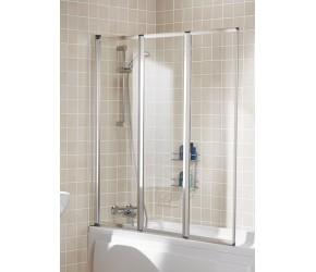 Lakes Classic Framed Bath Screen 1390mm x 1400mm