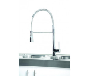 Iona KT8 Chrome Pull Out Kitchen Tap