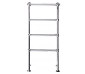 Eastbrook Windrush Traditional Chrome Towel Rail 1195mm High x 500mm Wide