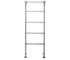 Eastbrook Windrush Traditional Chrome Towel Rail 1550mm High x 600mm Wide