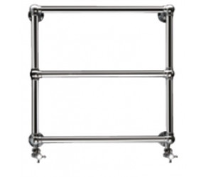 Eastbrook Stour Traditional Chrome Towel Rail 690mm High x 500mm Wide