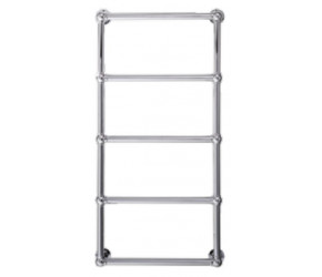 Eastbrook Stour Traditional Chrome Towel Rail 1195mm High x 500mm Wide