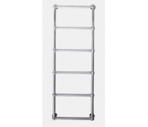 Eastbrook Stour Traditional Chrome Towel Rail 1550mm High x 500mm Wide