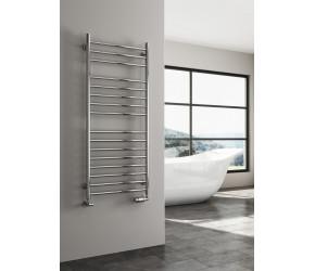 Reina Luna Stainless Steel Towel Rail Straight 1200mm High x 600mm Wide