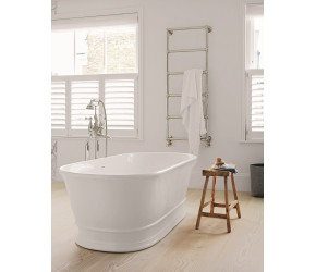 BC Designs Aurelius Freestanding Cian Solid Surface Bath 1740mm Long x 760mm Wide