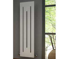 Reina Line Designer Vertical White Radiator 1800mm x 490mm