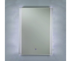RAK Reflections 5 High Gloss White Framed Mirror 700mm x 500mm