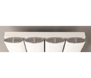 Eastbrook Malmesbury Chrome Cover Cap Set 375mm
