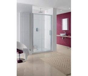 Lakes Talsi Semi-Frameless Sliding Shower Enclosure 1100mm Wide x 2000mm High
