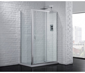 Aquadart Venturi 6 Shower Slider Door 1400mm