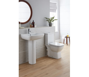 Kartell Evoque Toilet and Basin 4 Piece Bathroom Suite