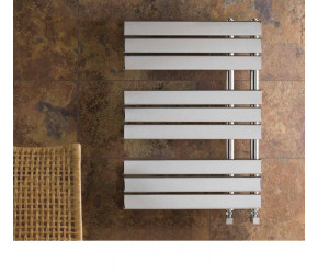 Eastbrook New Leonardo Chrome Designer Towel Rail 1450mm x 500mm