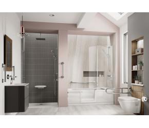 Trojan Bathe Easy Style Walk-in Shower Bath 1700mm x 750mm