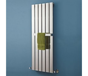 Phoenix Orla Chrome Designer Radiator 1600mm High x 375mm Wide